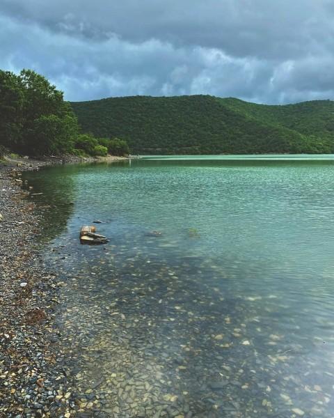 Озеро Абрау под Новороссийском. Автор: afonin_oleg